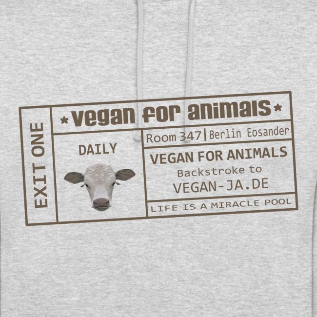 vegan for animals