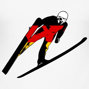 Skispringen - Skijumping Germany T-Shirts - Männer Slim Fit T-Shirt