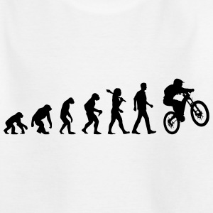 Evolution Of Biking T-Shirts - Teenager T-Shirt