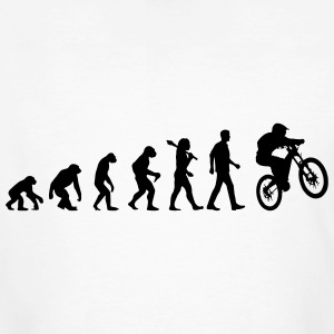 Evolution Of Biking T-Shirts - Männer Bio-T-Shirt