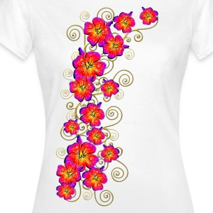 Hibiscus, summer, surf beach, Hawaii, water sports T-Shirts - Women's T-Shirt