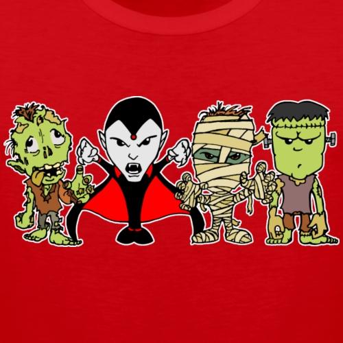 Monster Quartett