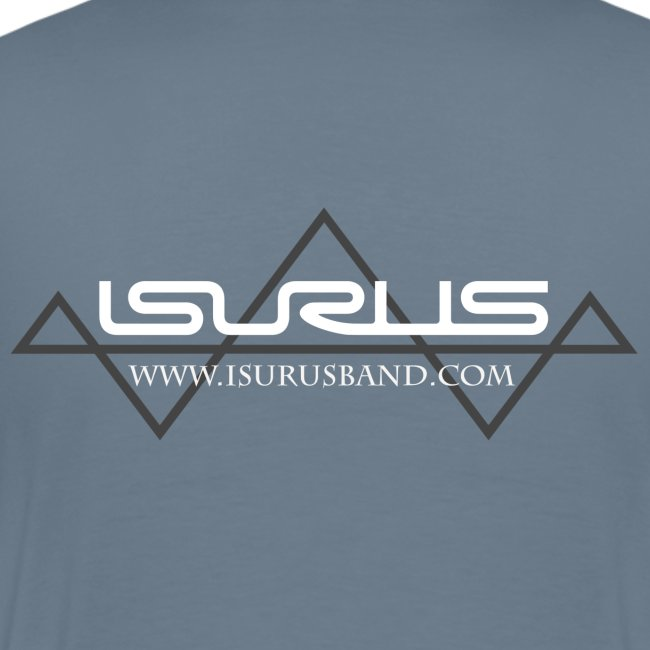 Isurus Logo & Website Back Print