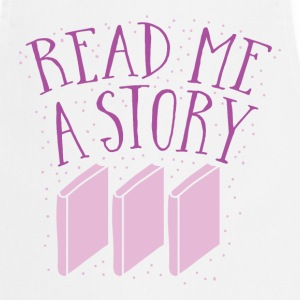 READ me a story with books  Aprons - Cooking Apron
