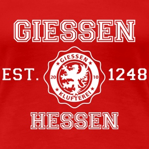 Gießen Established - Frauen Premium T-Shirt