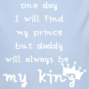 daddy is my king Baby Bodys - Baby Bio-Langarm-Body
