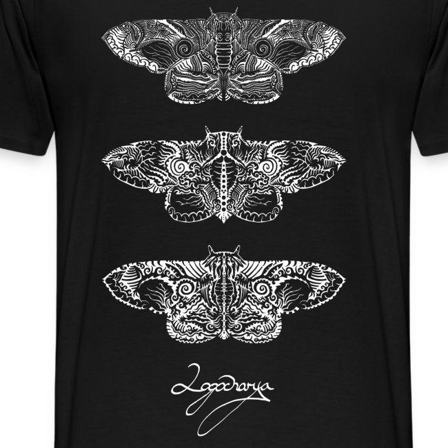 Logocharya Moth Shirt With Back Print