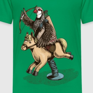 Partridge Rider Shirts - Kids' Premium T-Shirt