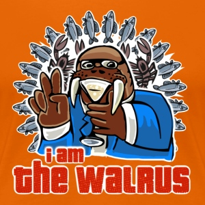 I am the walrus - Frauen Premium T-Shirt