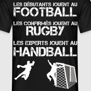 Les experts jouent au handball Tee shirts - T-shirt Homme