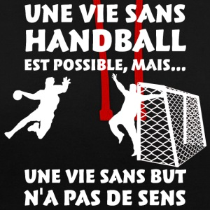Une vie sans Handball  Sweat-shirts - Sweat-shirt contraste