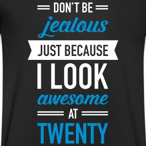 Awesome At Twenty T-Shirts - Men's V-Neck T-Shirt