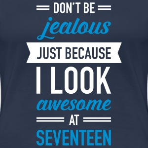 Awesome At Seventeen T-Shirts - Women's Premium T-Shirt