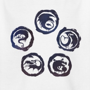 DreamWorks Dragons Icons structure Tee shirt Ado - T-shirt Ado