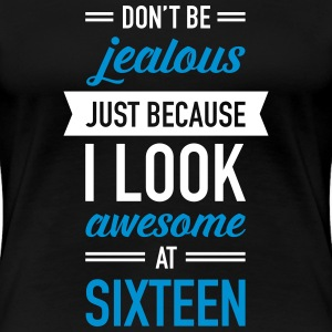 Awesome At Sixteen T-shirts - Premium-T-shirt dam