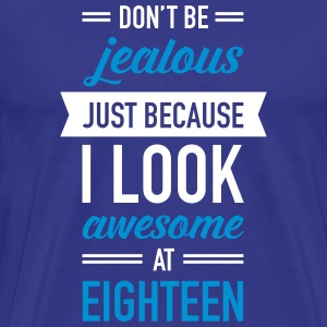 Awesome At Eighteen T-Shirts - Men's Premium T-Shirt