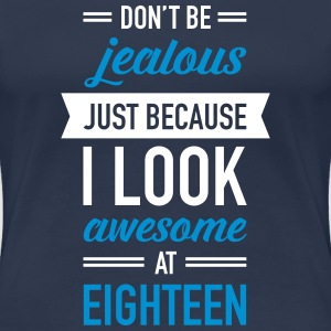 Awesome At Eighteen T-Shirts - Women's Premium T-Shirt