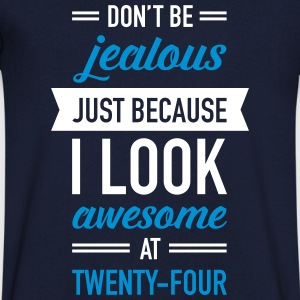 Awesome At Twenty-Four Camisetas - Camiseta de pico hombre
