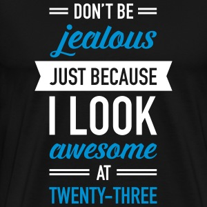 Awesome At Twenty-Three T-Shirts - Men's Premium T-Shirt
