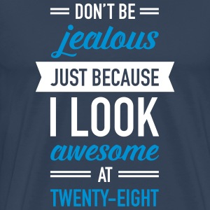 Awesome At Twenty-Eight T-Shirts - Men's Premium T-Shirt