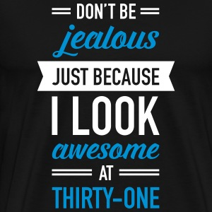 Awesome At Thirty-One T-shirts - Premium-T-shirt herr