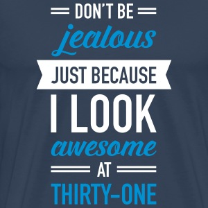 Awesome At Thirty-One T-shirts - Herre premium T-shirt