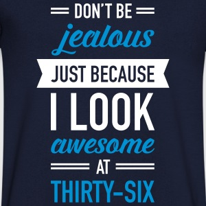 Awesome At Thirty-Six T-Shirts - Men's V-Neck T-Shirt
