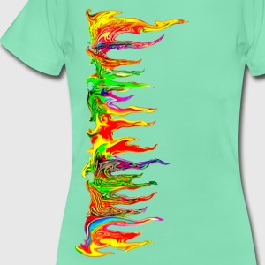 Color your life! colour, party, music, trance, goa - Women's T-Shirt