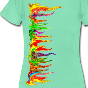 Color your life! colour, music, holi festival, goa T-shirts - Vrouwen T-shirt