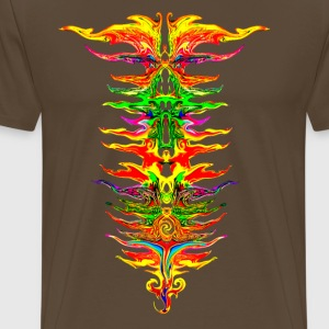 Color your life! colorful, party, music, rainbow  - Men's Premium T-Shirt
