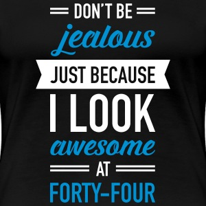 Awesome At Forty-Four T-Shirts - Women's Premium T-Shirt