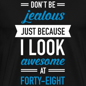 Awesome At Forty-Eight Tee shirts - T-shirt Premium Homme