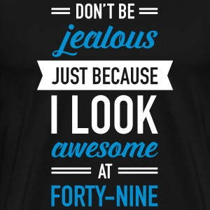 Awesome At Forty-Nine T-Shirts - Men's Premium T-Shirt