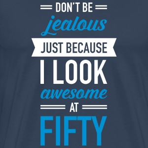 Awesome At Fifty T-Shirts - Men's Premium T-Shirt