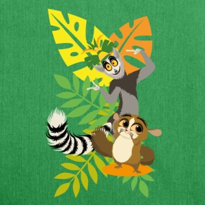 DreamWorks King Julien with Mort Tote Bags - Shoulder Bag made from recycled material