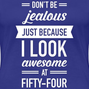 Awesome At Fifty-Four T-Shirts - Women's Premium T-Shirt