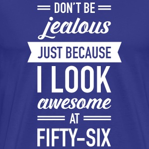 Awesome At Fifty-Six T-Shirts - Men's Premium T-Shirt