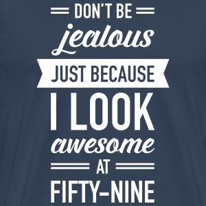 Awesome At Fifty-Nine T-Shirts - Men's Premium T-Shirt