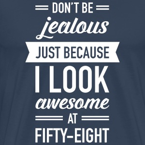 Awesome At Fifty-Eight T-Shirts - Men's Premium T-Shirt