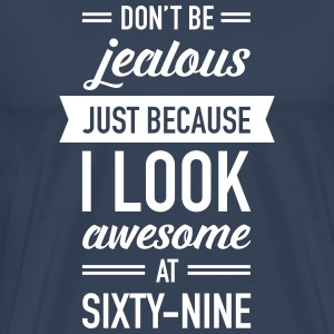 Awesome At Sixty-Nine T-Shirts - Men's Premium T-Shirt