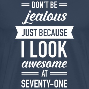 Awesome At Seventy-One T-Shirts - Männer Premium T-Shirt