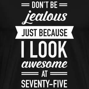 Awesome At Seventy-Five T-shirts - Premium-T-shirt herr