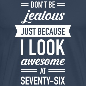 Awesome At Seventy-Six T-shirts - Premium-T-shirt herr