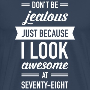 Awesome At Seventy-Eight T-Shirts - Männer Premium T-Shirt
