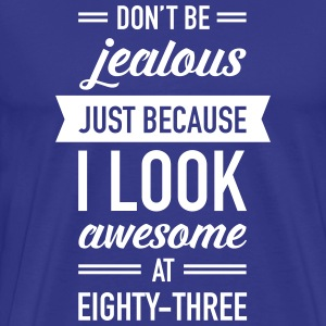 Awesome At Eighty-Three T-Shirts - Men's Premium T-Shirt