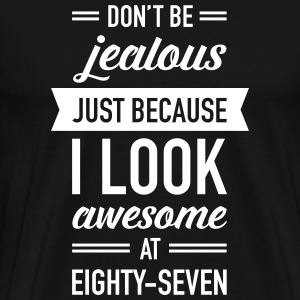 Awesome At Eighty-Seven T-Shirts - Men's Premium T-Shirt