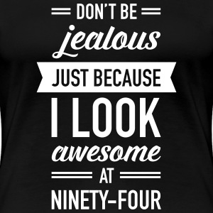 Awesome At Ninety-Four T-Shirts - Women's Premium T-Shirt