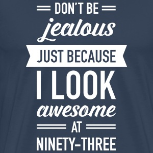 Awesome At Ninety-Three Camisetas - Camiseta premium hombre
