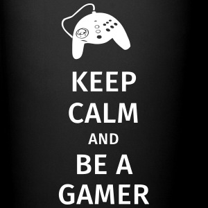 keep calm and be a gamer Krus & tilbehør - Ensfarvet krus