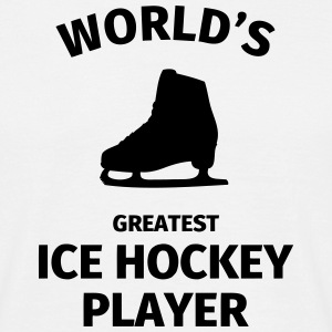 World's Greatest Ice Hockey Player Camisetas - Camiseta hombre